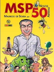 Maurício de Sousa por 50 Novos Artistas
